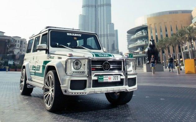 Brabus G Dubai Police-07