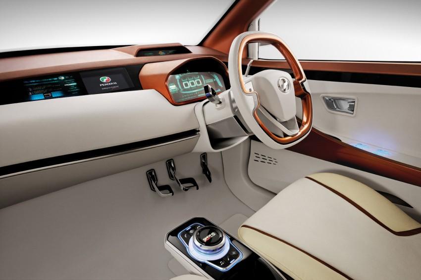 Perodua Buddyz concept sedan debuts at KLIMS13 Image #210060