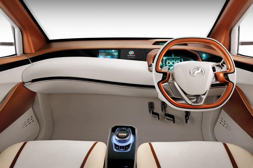 Perodua Buddyz concept sedan debuts at KLIMS13 Image #210061