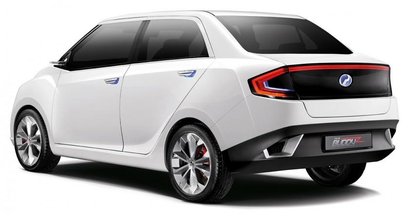 Perodua Buddyz concept sedan debuts at KLIMS13 Image #210063