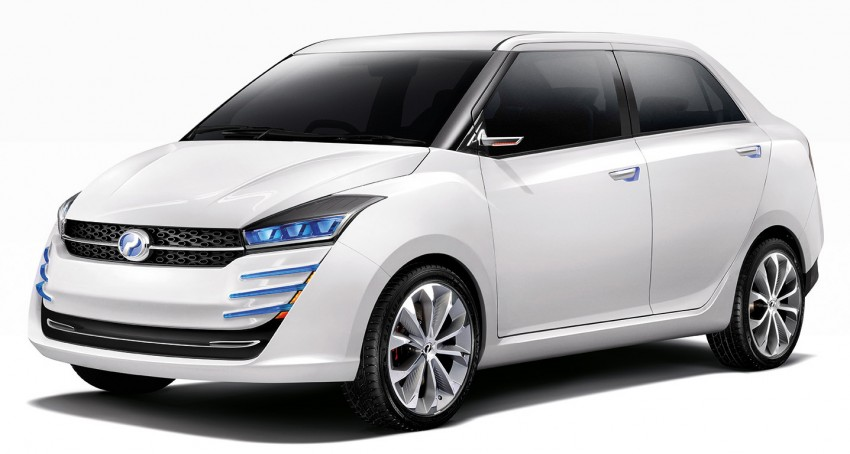 Perodua Buddyz concept sedan debuts at KLIMS13 Image #210064