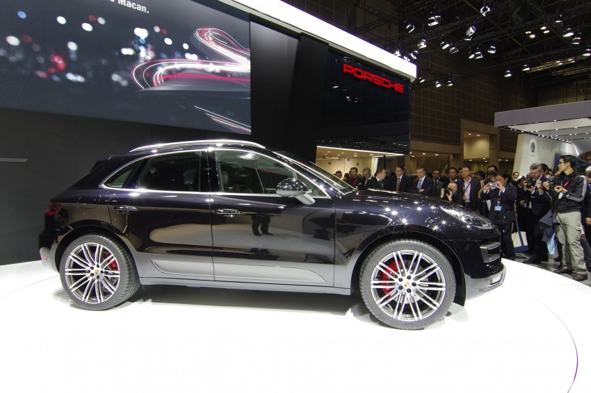 Porsche Macan SUV unveiled in LA with up to 400 hp Image #212472