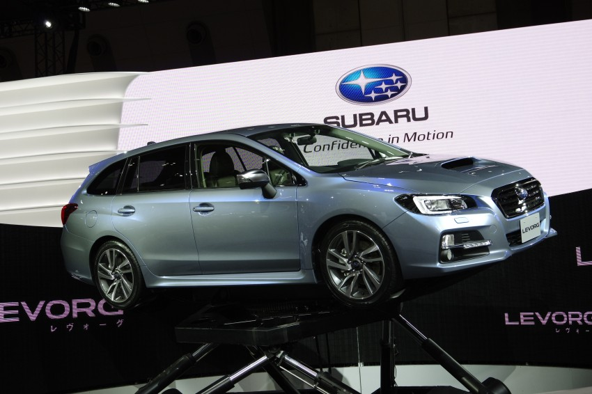 Tokyo 2013: Subaru Levorg Sports Tourer – just a prototype in name, launching next year Image #213005