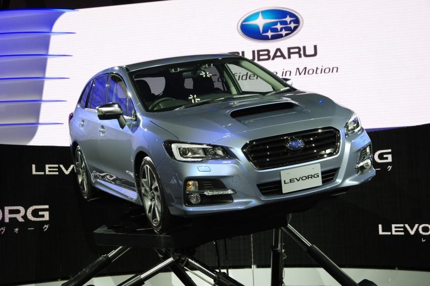 Tokyo 2013: Subaru Levorg Sports Tourer – just a prototype in name, launching next year Image #213006