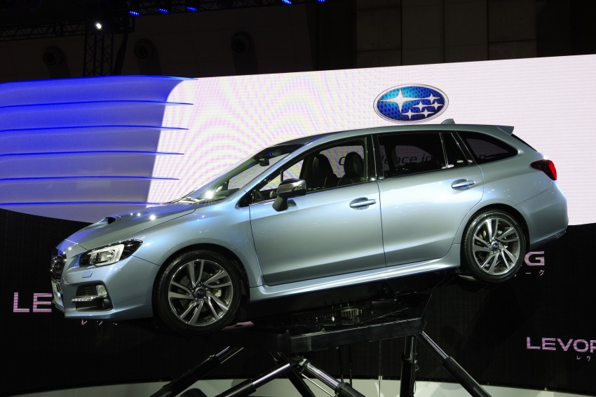 Tokyo 2013: Subaru Levorg Sports Tourer – just a prototype in name, launching next year Image #213002