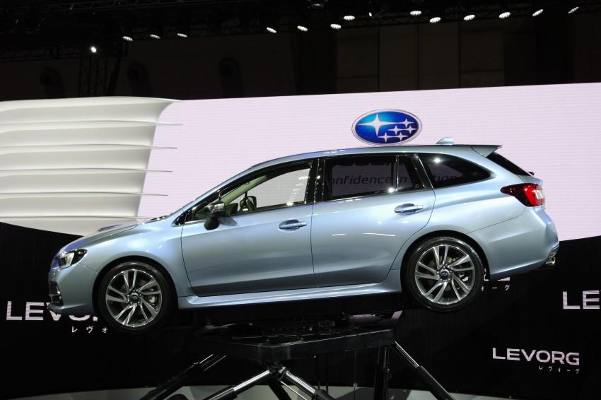 Tokyo 2013: Subaru Levorg Sports Tourer – just a prototype in name, launching next year Image #213001