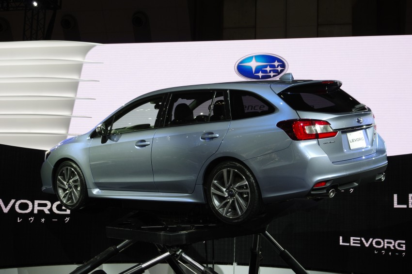 Tokyo 2013: Subaru Levorg Sports Tourer – just a prototype in name, launching next year Image #212999