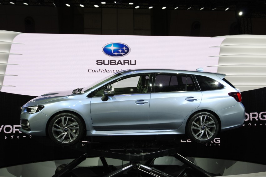 Tokyo 2013: Subaru Levorg Sports Tourer – just a prototype in name, launching next year Image #213000