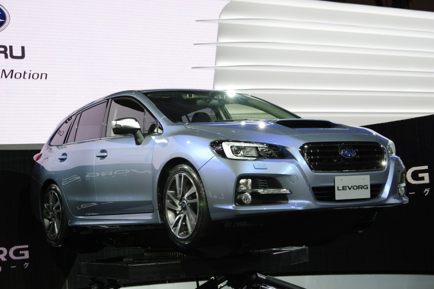 Tokyo 2013: Subaru Levorg Sports Tourer – just a prototype in name, launching next year Image #212998