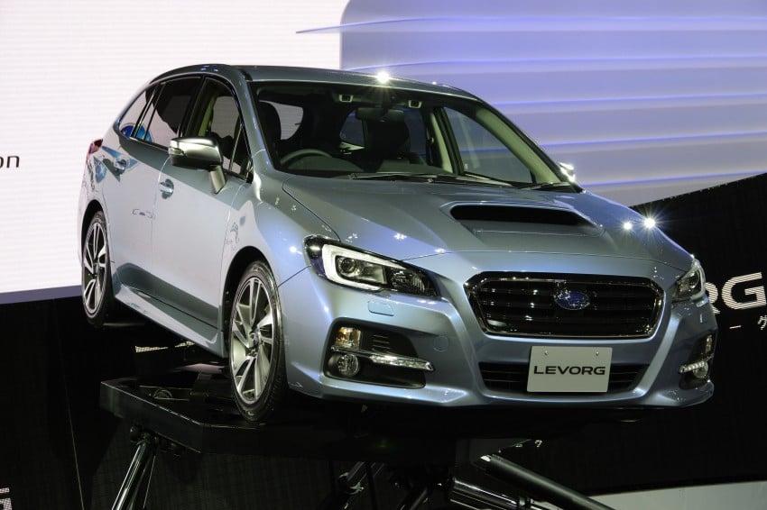 Tokyo 2013: Subaru Levorg Sports Tourer – just a prototype in name, launching next year Image #212997