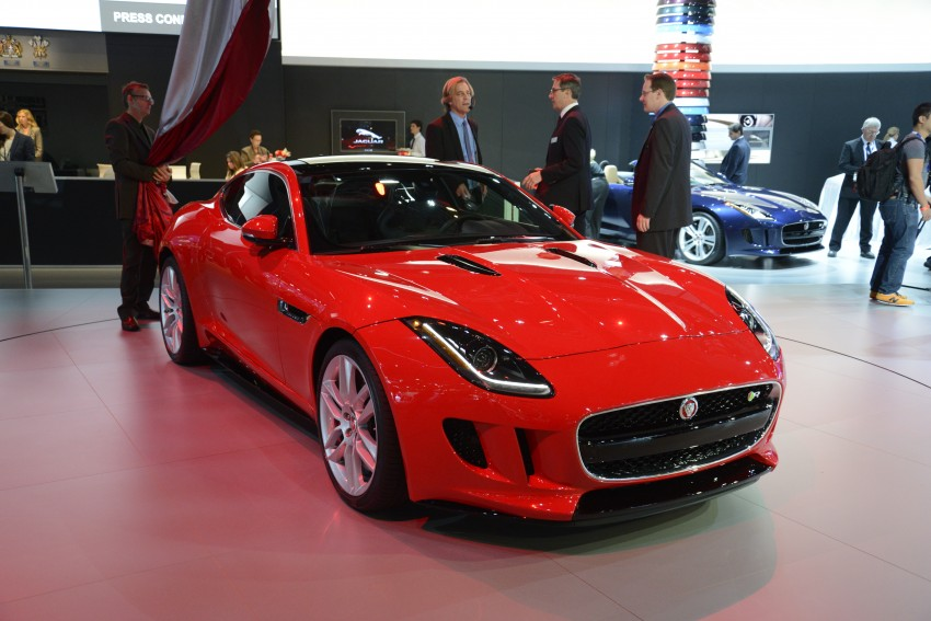 Tokyo 2013: Jaguar F-Type Coupe debuts, gets 550 PS Image #213465