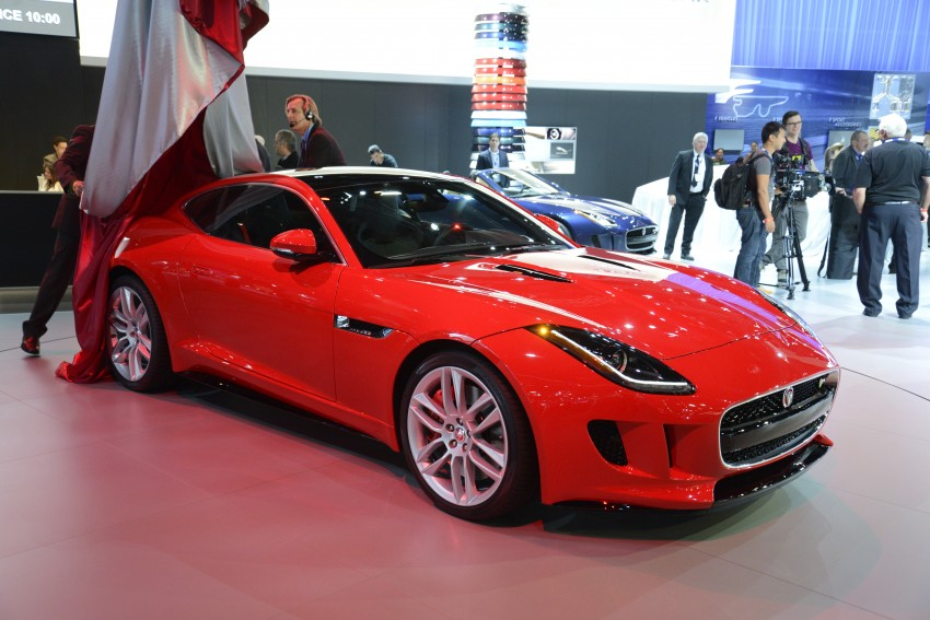 Tokyo 2013: Jaguar F-Type Coupe debuts, gets 550 PS Image #213463