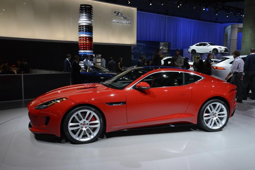 Tokyo 2013: Jaguar F-Type Coupe debuts, gets 550 PS Image #213464