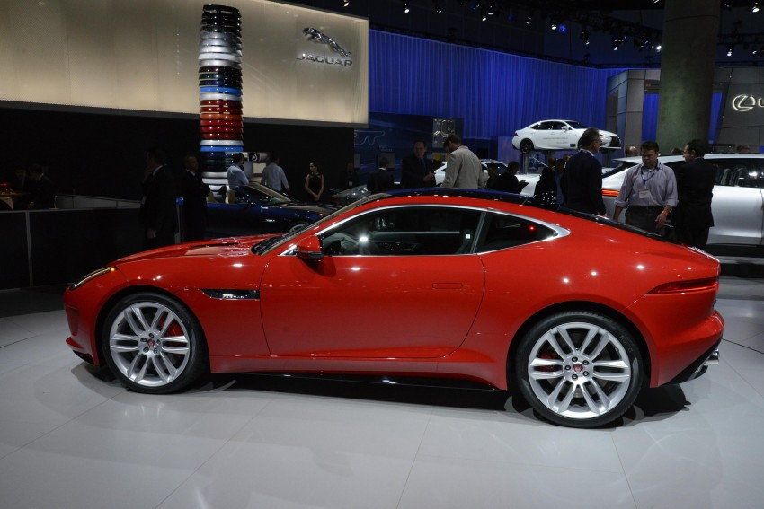 Tokyo 2013: Jaguar F-Type Coupe debuts, gets 550 PS Image #213471