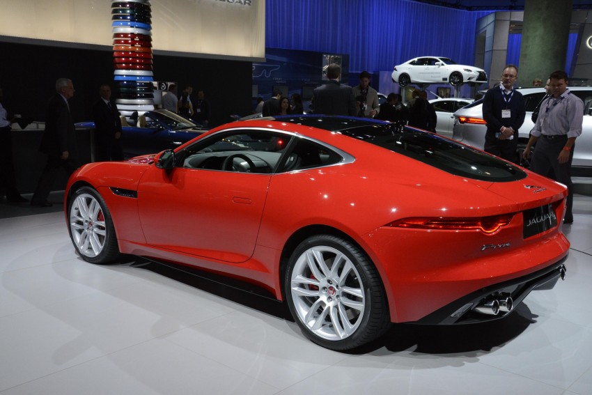 Tokyo 2013: Jaguar F-Type Coupe debuts, gets 550 PS Image #213467