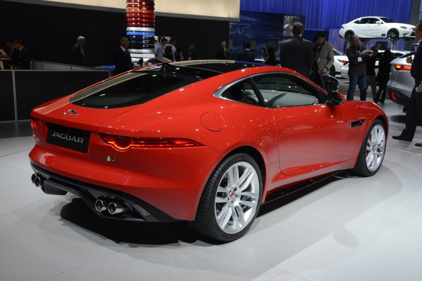 Tokyo 2013: Jaguar F-Type Coupe debuts, gets 550 PS Image #213466