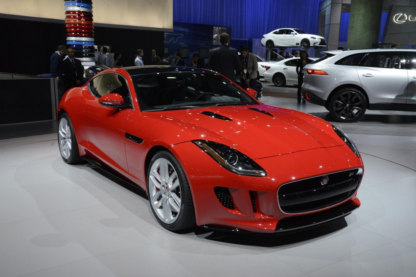 Tokyo 2013: Jaguar F-Type Coupe debuts, gets 550 PS Image #213468