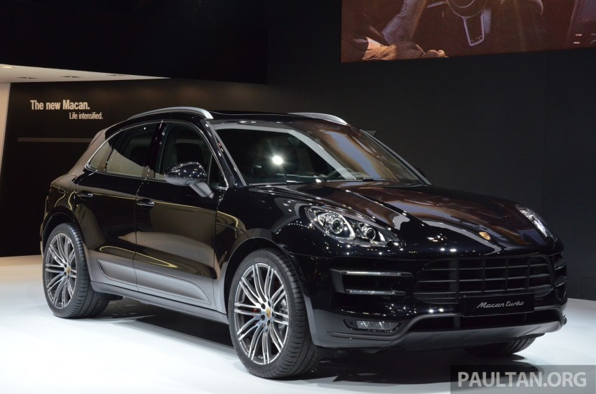 Porsche Macan SUV unveiled in LA with up to 400 hp Image #213642