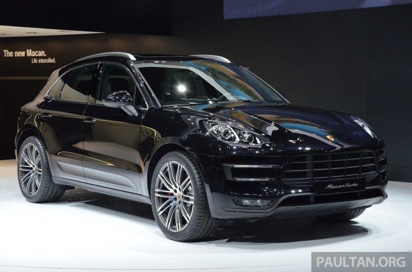 Porsche Macan SUV unveiled in LA with up to 400 hp Image #213643