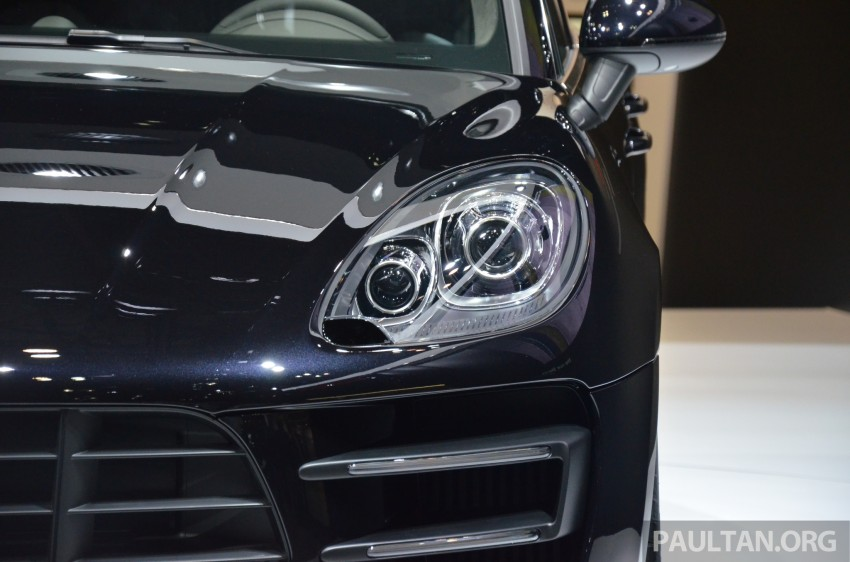 Porsche Macan SUV unveiled in LA with up to 400 hp Image #213640