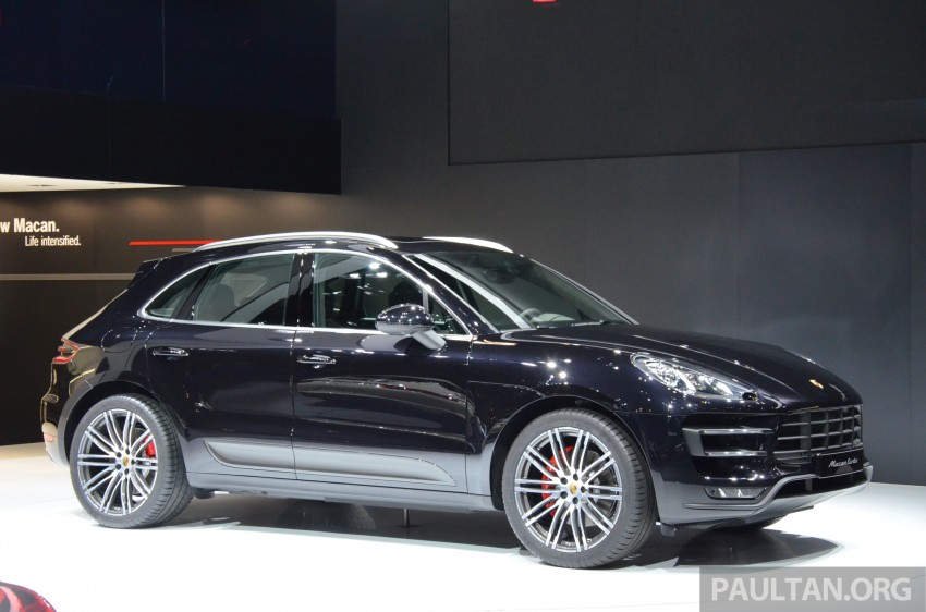 Porsche Macan SUV unveiled in LA with up to 400 hp Image #213636