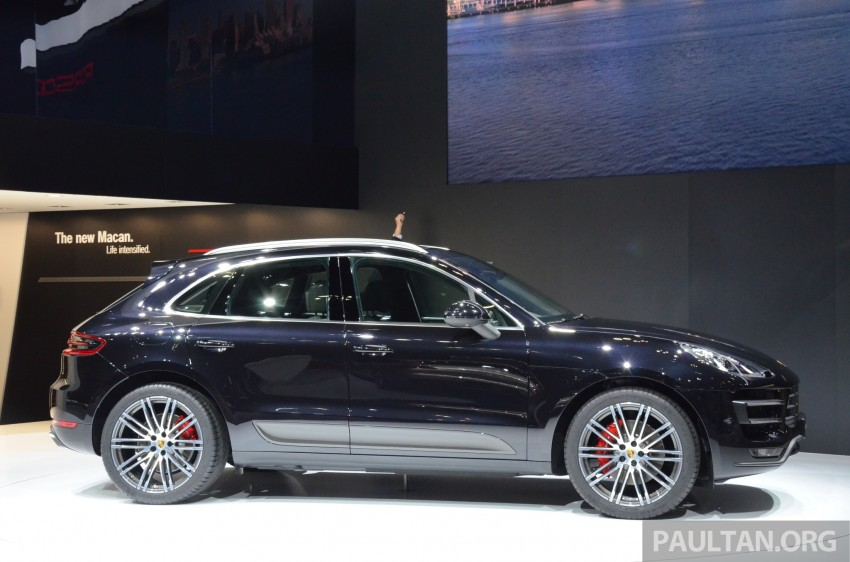 Porsche Macan SUV unveiled in LA with up to 400 hp Image #213637
