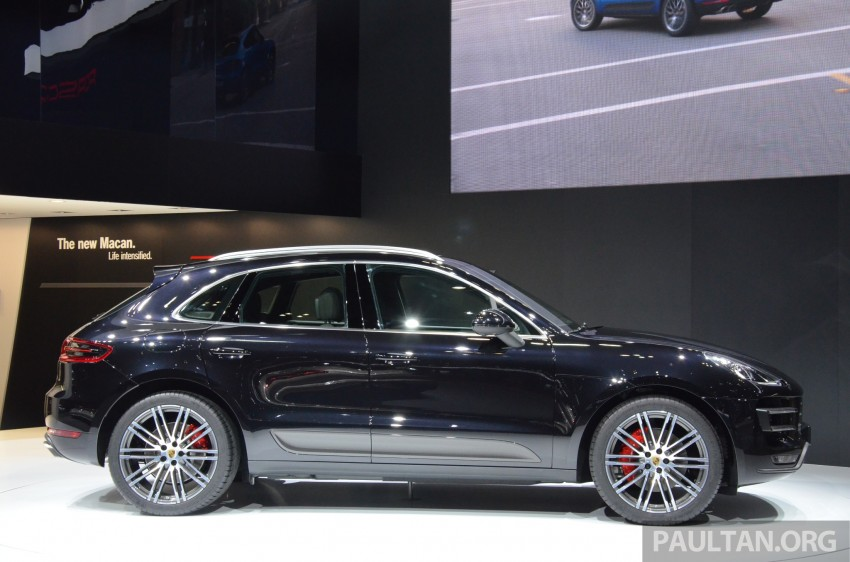 Porsche Macan SUV unveiled in LA with up to 400 hp Image #213638
