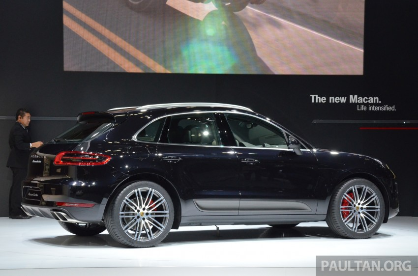 Porsche Macan SUV unveiled in LA with up to 400 hp Image #213634