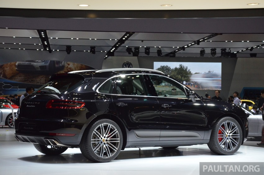 Porsche Macan SUV unveiled in LA with up to 400 hp Image #213635