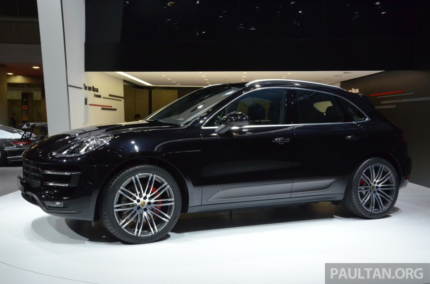 Porsche Macan SUV unveiled in LA with up to 400 hp Image #213632
