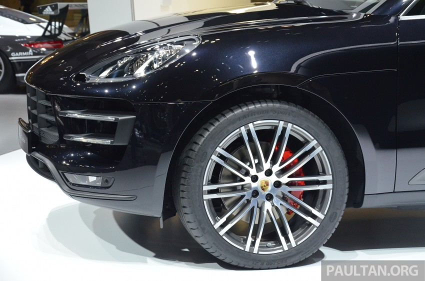 Porsche Macan SUV unveiled in LA with up to 400 hp Image #213631