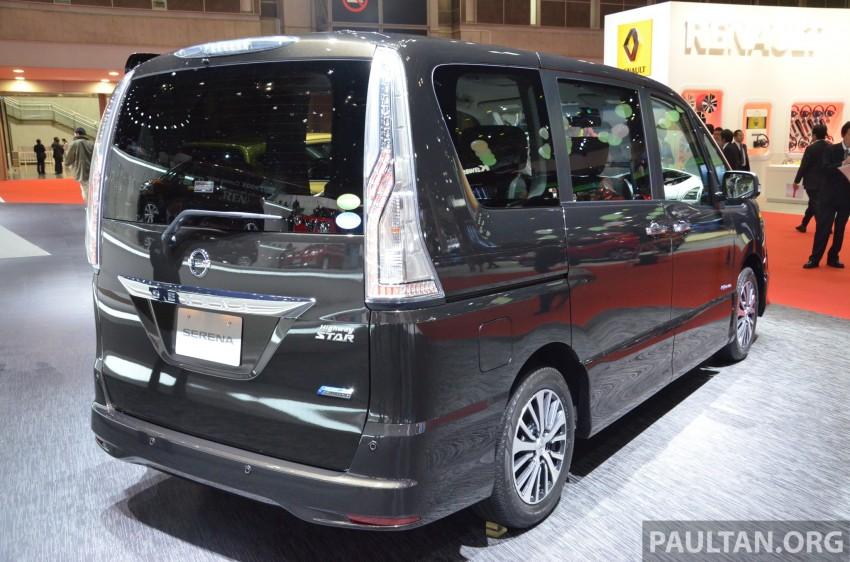 Nissan Serena S-Hybrid facelift unveiled at Tokyo 2013 Image #212872