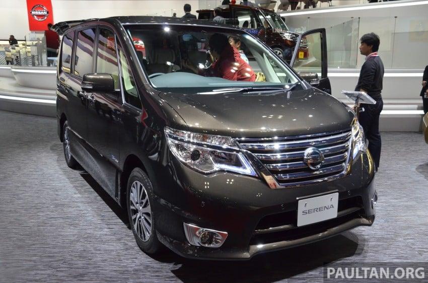 Nissan Serena S-Hybrid facelift unveiled at Tokyo 2013 Image #212874