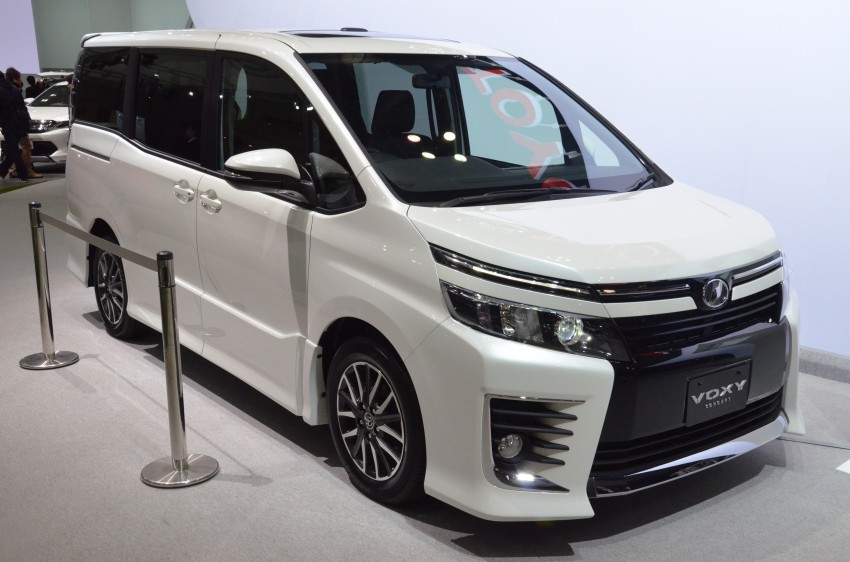 2014 Toyota Noah and Voxy previewed at Tokyo 2013 Image #213064
