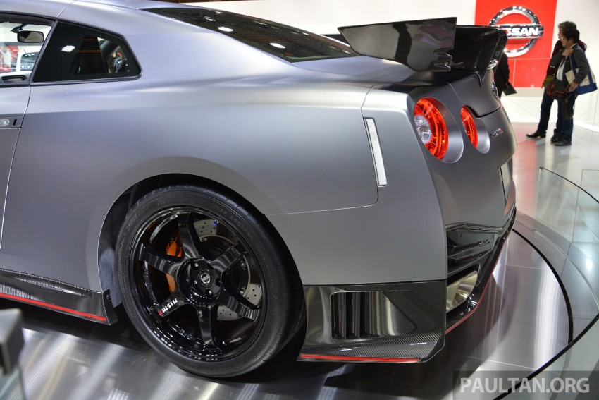 Nissan GT-R Nismo debuts – 600 hp, 7:08 'Ring time Image #213652