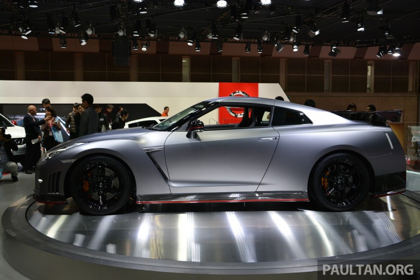 Nissan GT-R Nismo debuts – 600 hp, 7:08 'Ring time Image #213646