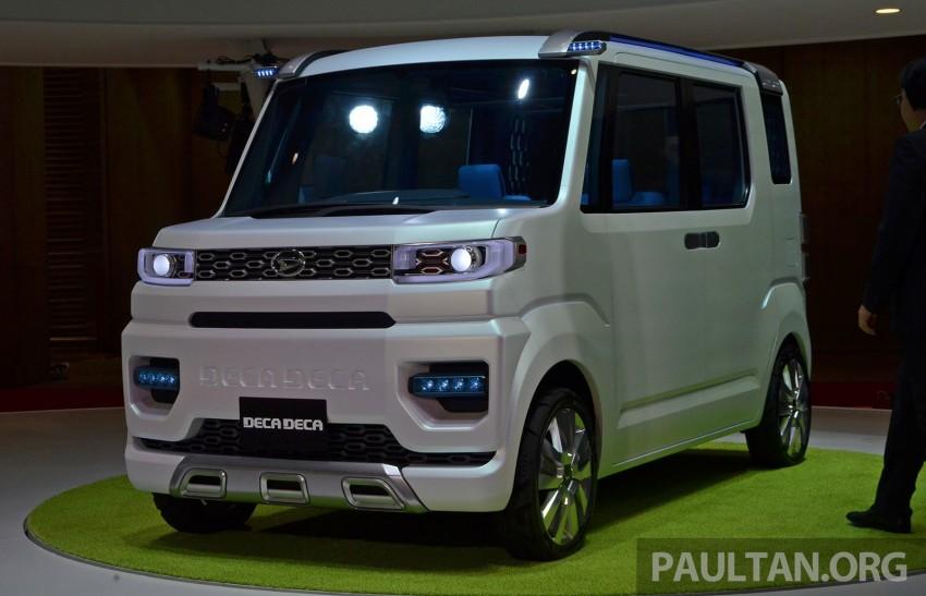 Tokyo 2013: Daihatsu Deca Deca 'super space' vehicle Image #212182