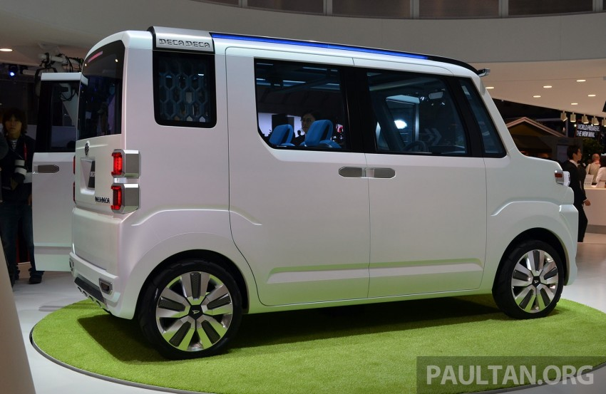 Tokyo 2013: Daihatsu Deca Deca 'super space' vehicle Image #212184