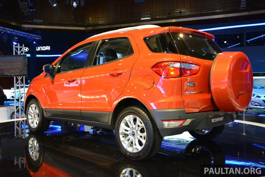 Ford EcoSport 1.5 Titanium previewed at KLIMS13 Image #209803