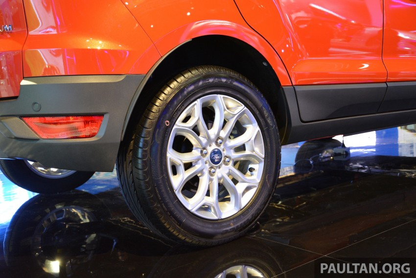 Ford EcoSport 1.5 Titanium previewed at KLIMS13 Image #209805