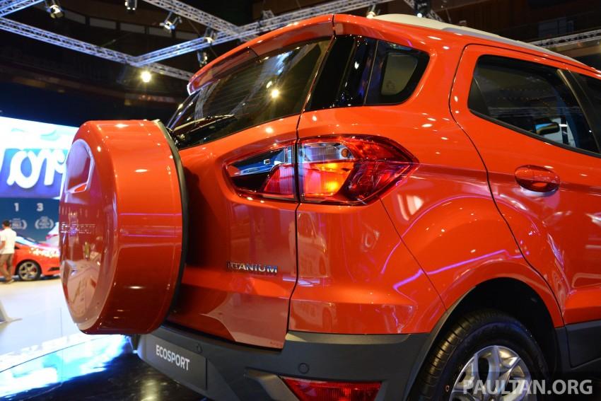 Ford EcoSport 1.5 Titanium previewed at KLIMS13 Image #209806