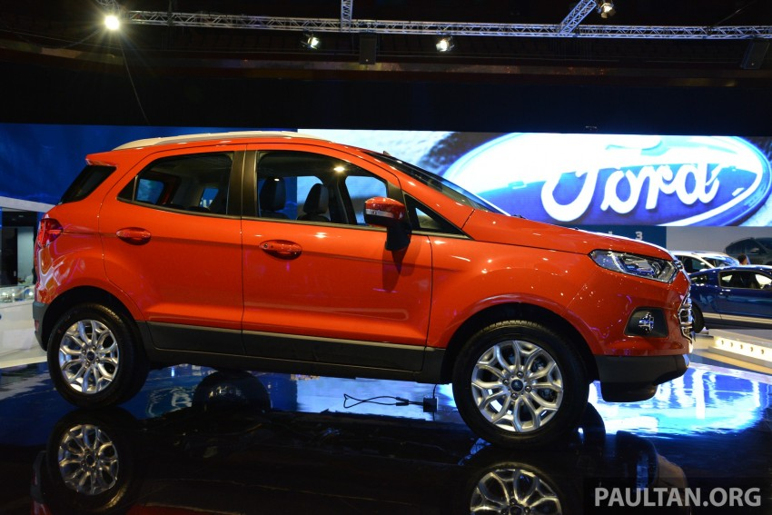 Ford EcoSport 1.5 Titanium previewed at KLIMS13 Image #209807