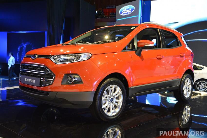 Ford EcoSport 1.5 Titanium previewed at KLIMS13 Image #209808