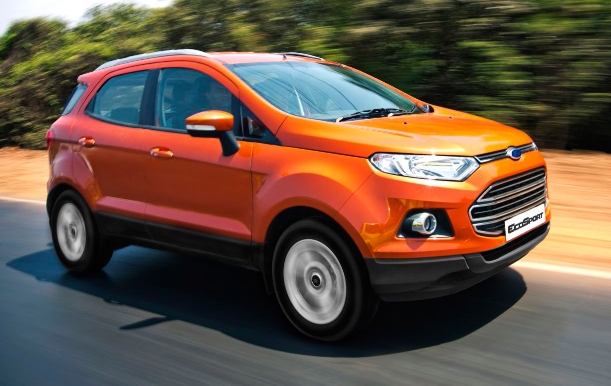 ford ecosport suv and fiesta 1 0l ecoboost to make debut at klims13 where order books open. Black Bedroom Furniture Sets. Home Design Ideas