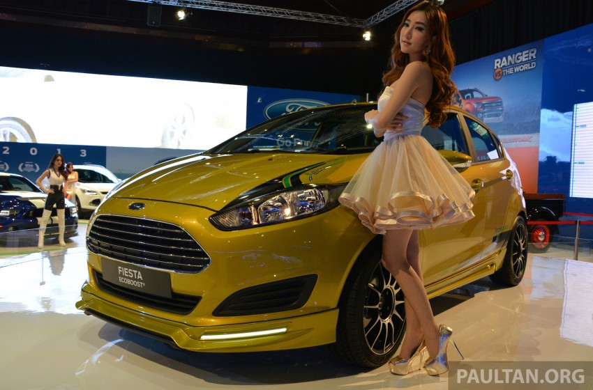 Ford Fiesta 1.0 EcoBoost previewed at KLIMS13 Image #210112