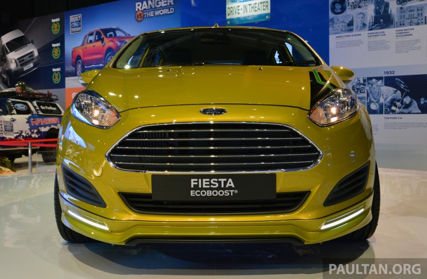 Ford Fiesta 1.0 EcoBoost previewed at KLIMS13 Image #210121