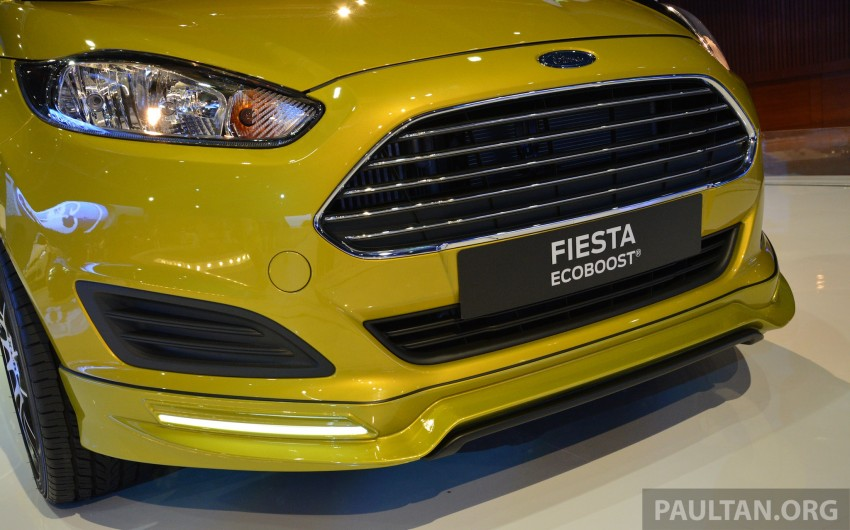 Ford Fiesta 1.0 EcoBoost previewed at KLIMS13 Image #210122