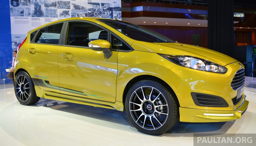Ford Fiesta 1.0 EcoBoost previewed at KLIMS13 Image #210124