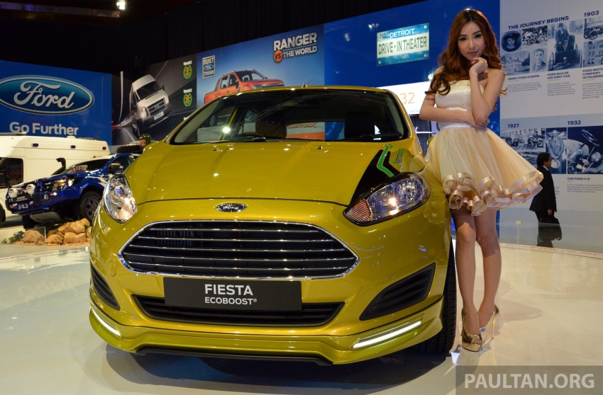 Ford Fiesta 1.0 EcoBoost previewed at KLIMS13 Image #210113