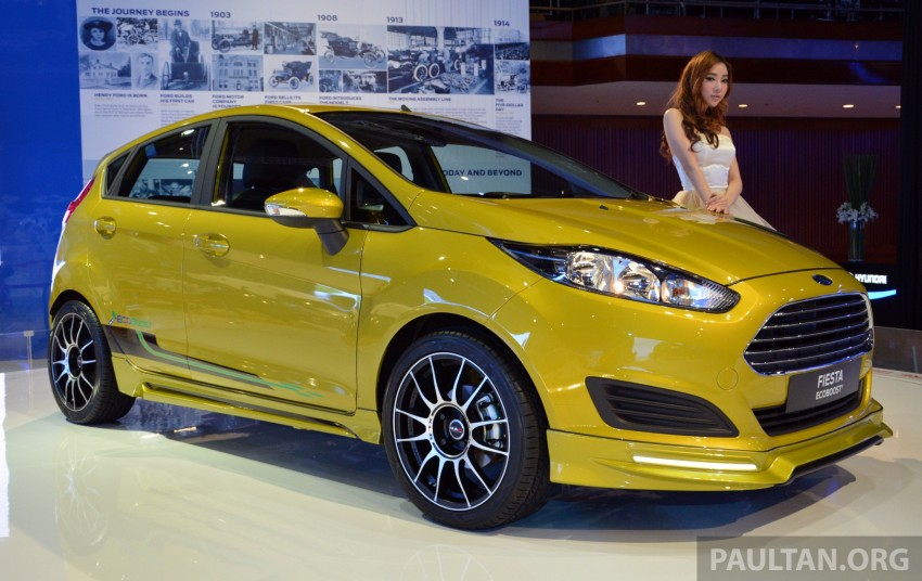Ford Fiesta 1.0 EcoBoost previewed at KLIMS13 Image #210114